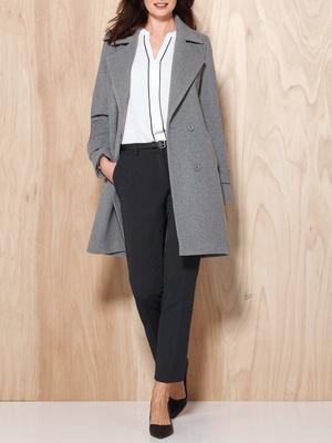 Manteau 10% cachemire,vous mesurez moins