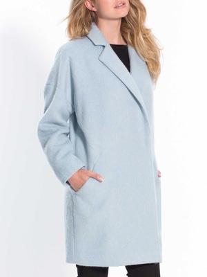Manteau forme ovoïde, 50% laine