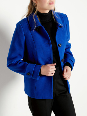 Manteau court, 43% laine