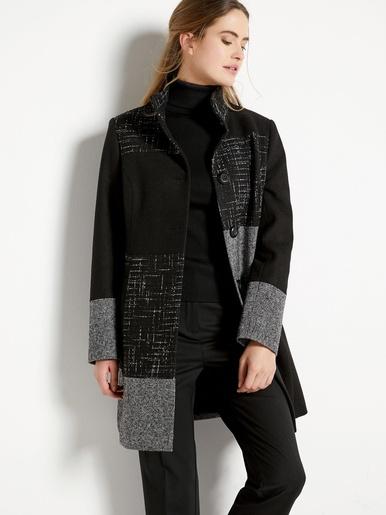 Manteau patchwork