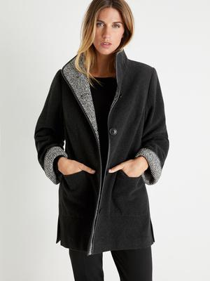 Manteau court, longueur 82 à 88 cm