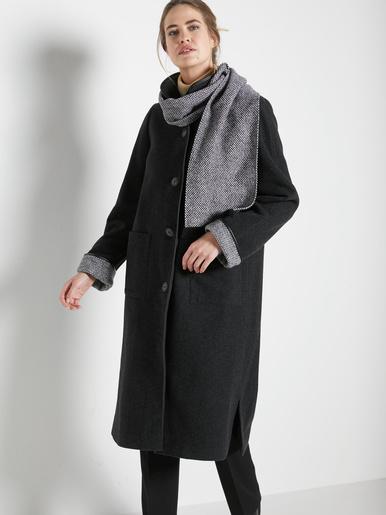 Manteau 3/4, longueur 115 à 120 cm
