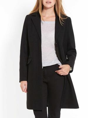 Manteau fermé par zip, poitrine standard