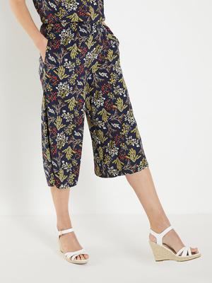 Jupe-culotte entièrement élastiquée