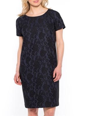 Robe motif dentelle, stature + d'1,60