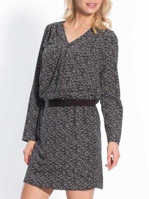 Robe bicolore courte, poitrine standard