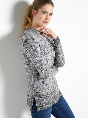 SOLDES Pull col roulé, pull femme, pull fantaisie 1927b545634