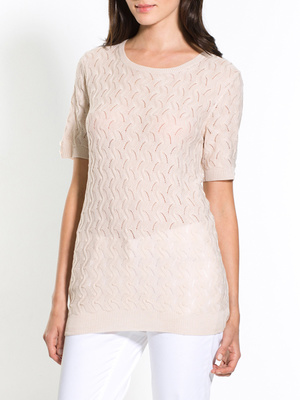 Pull manches courtes stature + d'1,60m