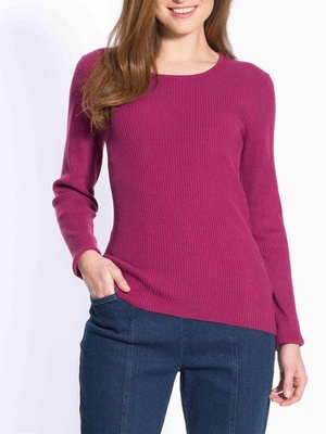Pull chaussette, encolure ronde