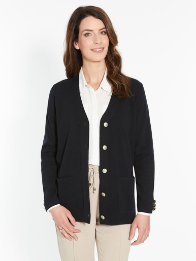 Gilet maille milano, manches longues
