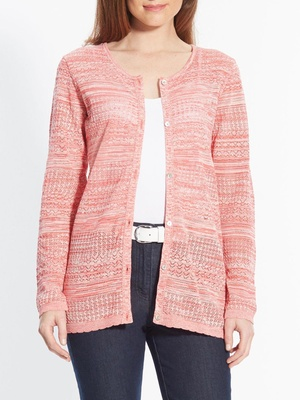Cardigan fantaisie, stature + d'1,60m