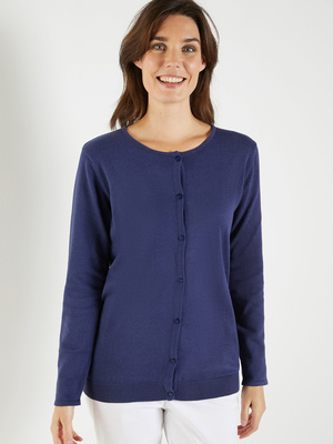 Cardigan encolure ronde