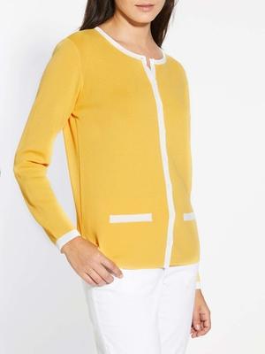 Cardigan bicolore Qualité n°1
