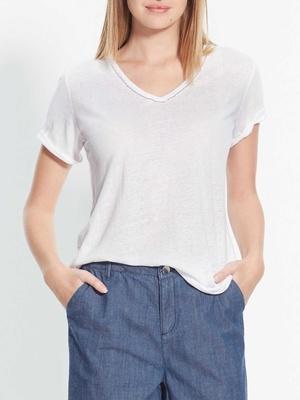 T-shirt manches courtes avec chaînette