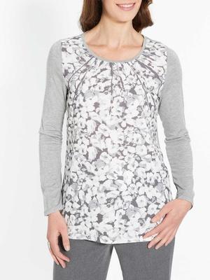 Tee-shirt bi-matière, avec photo-impress