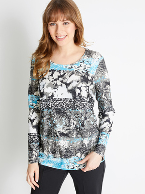 Tee-shirt manches longues, maille douce