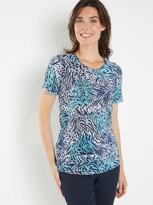 Tee-shirt au plissé permanent