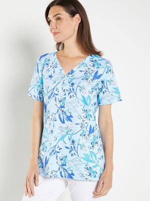 Tee-shirt manches courtes, pur coton