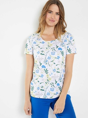 Tee-shirt tunique, pur coton