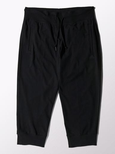 Pantalon noir Essentials 3/4 Pant