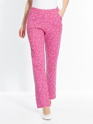 Pantalons droits, pur coton, lot de 2