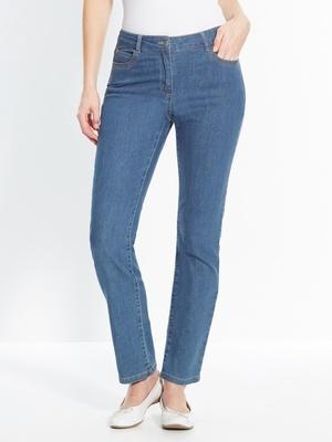 Jean 5 poches fuselé, stature - d'1,60m