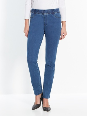 Pantalon en denim extensible, mollet for