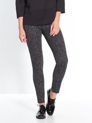 Pantalon tregging jacquard