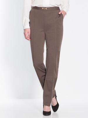 Pantalon ventre plat, 25% laine