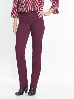 Pantalon droit, push-up