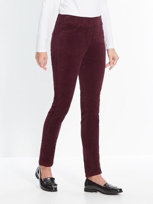 Pantalon en velours, mollets standard