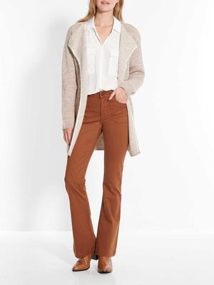 Pantalon évasé, stature 1,60 à 1,69m