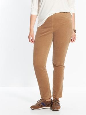 Pantalon velours spécial ventre rond