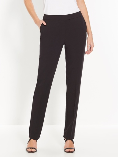 Pantalon classique, en tissu sergé