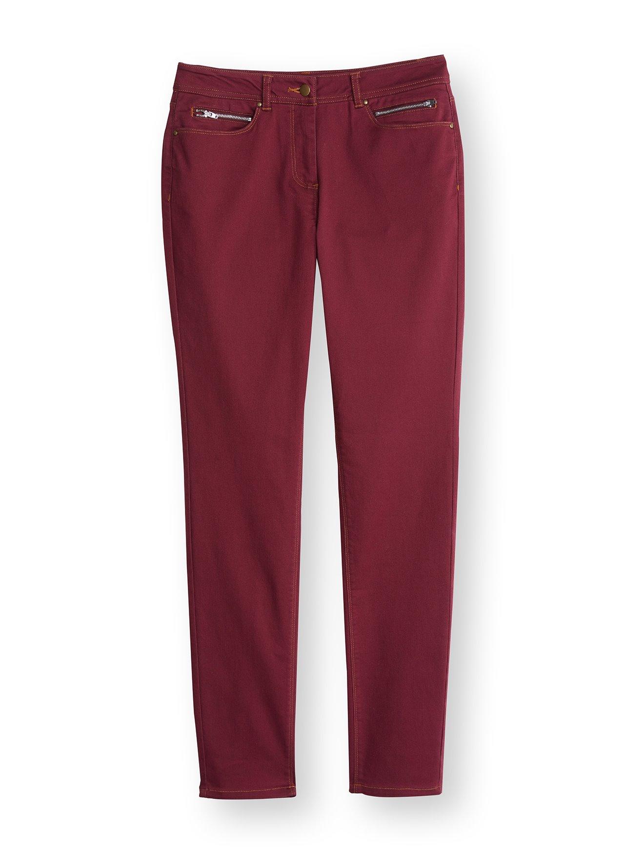 Pantalon Pantalon avec zippées zippées Pantalon Daxon poches poches Daxon avec avec YPfHqwYx