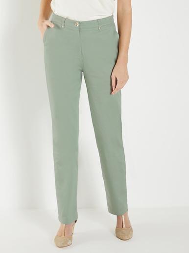 Pantalon gainant, coupe taille haute