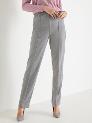 Pantalon en maille, vous mesurez plus d'