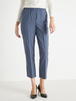 Pantalon élastiqué, entrejambe 69cm