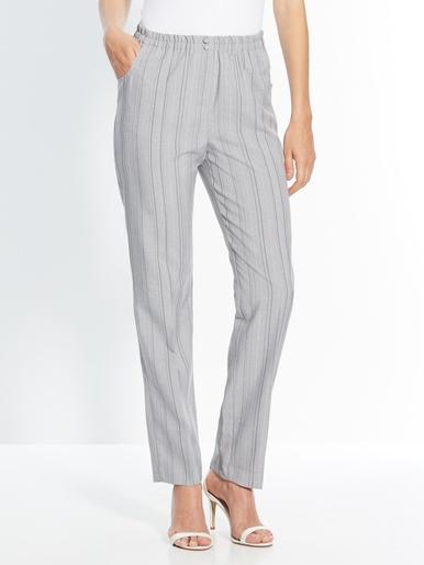 Pantalon élastiqué, entrejambe 78cm