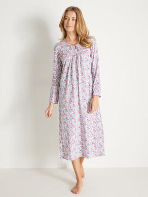 Chemises de nuit pur coton, lot de 2