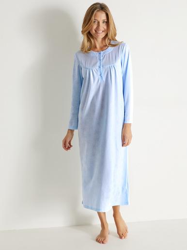 Chemise de nuit unie