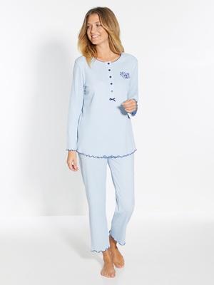 1993ff837c839 Soldes Pyjama Femme Grande Taille - Satin, Chaud... - Achat en Ligne ...