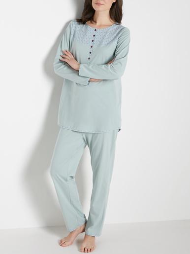 Pyjama en maille jersey pur coton