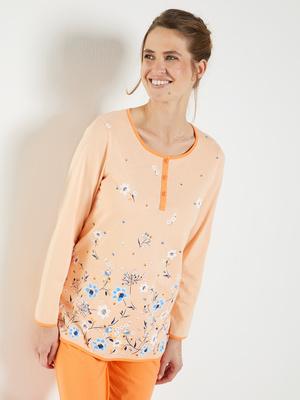 Pyjama fantaisie, maille pur coton