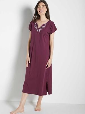 Robe d'hôtesse manches courtes