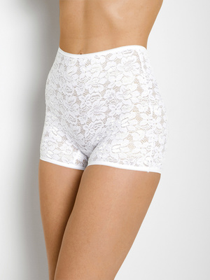 Lot de 2 shorties, dentelle extensible