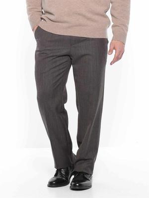 Pantalon flanelle avec ceinture réglable