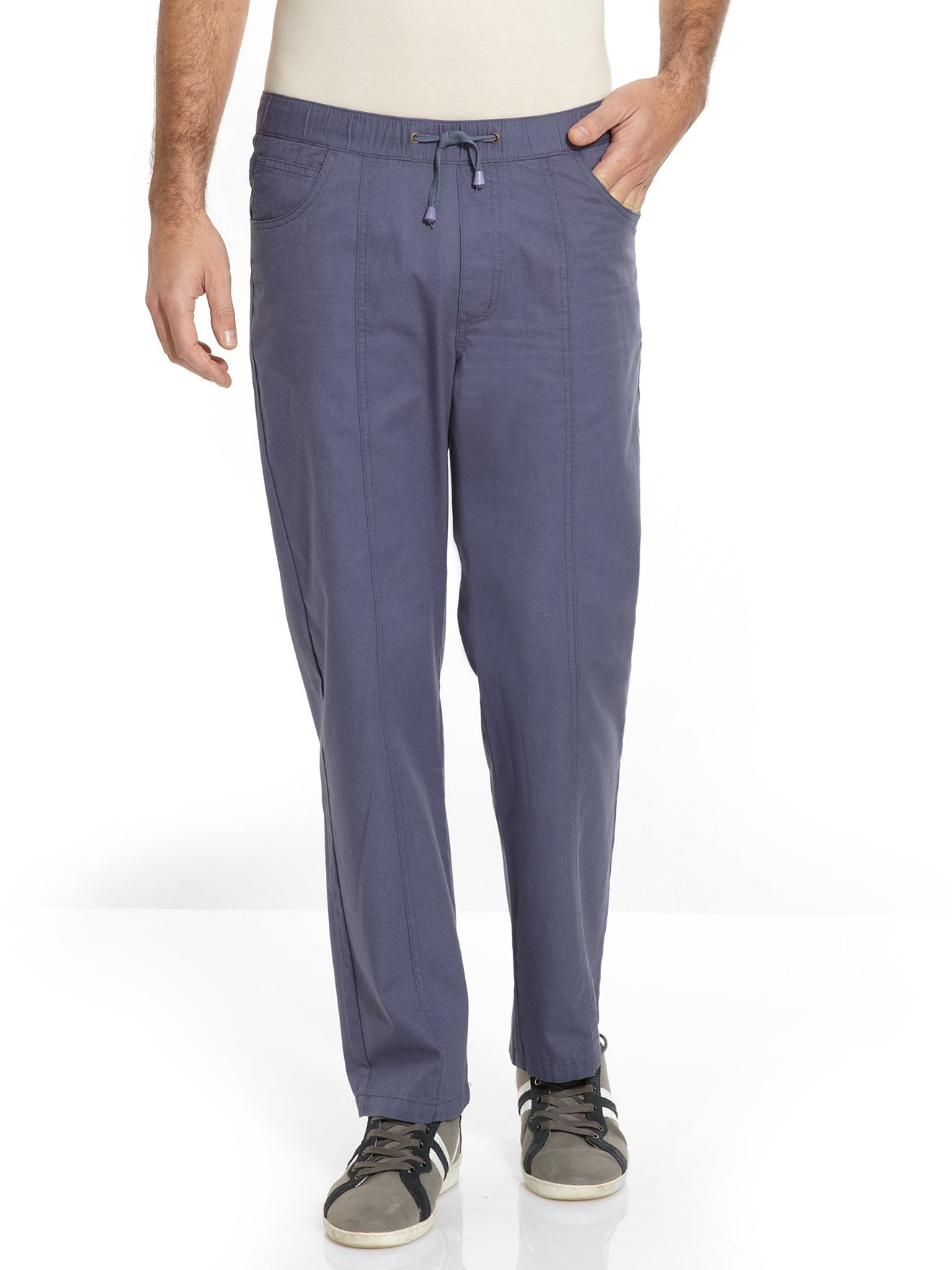 3fe6217519b Pantalon droit coton
