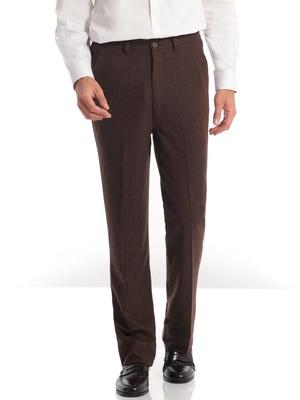 Pantalon à ceinture élastiquée côtés