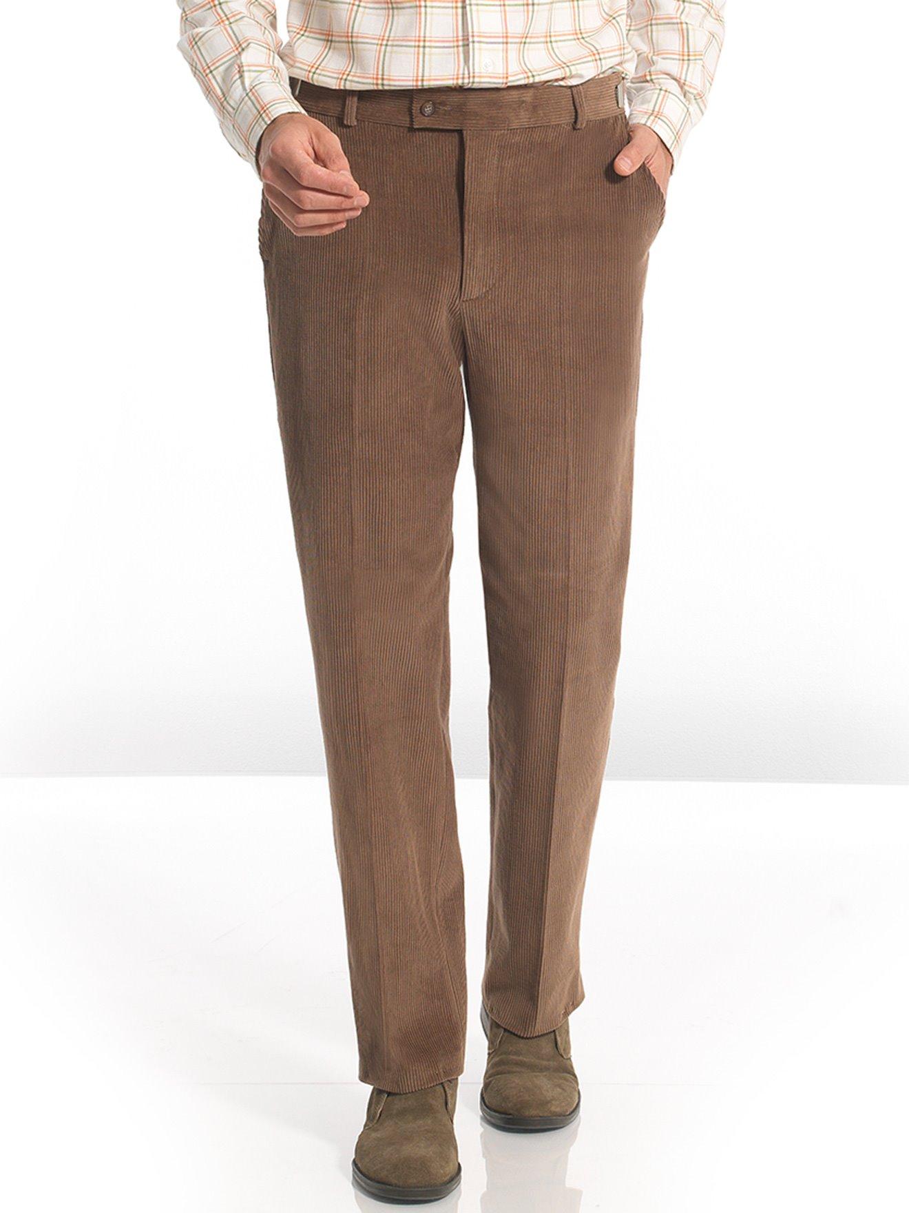 b9b91ec9b76a Pantalon droit velours